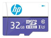 HP mi330 - Flash-Speicherkarte (microSDHC/SD-Adapter inbegriffen) - 32 GB - UHS-I U3 / Class10 - microSDHC UHS-I