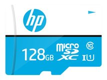 HP mx310 - Flash-Speicherkarte (microSDXC-an-SD-Adapter inbegriffen) - 128 GB - UHS-I U1 / Class10 - microSDXC UHS-I
