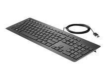 HP Premium - Tastatur - USB - Deutschland - für Elite Slice G2; EliteDesk 705 G5, 800 G5; ProOne 400 G5, 440 G5; Workstation Z1 G5, Z2