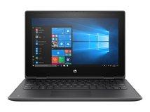 HP ProBook x360 11 G6 Education Edition - Flip-Design - Core i3 10110Y / 1 GHz - Win 10 Pro 64-bit National Academic - 4 GB RAM - 128 GB SSD TLC