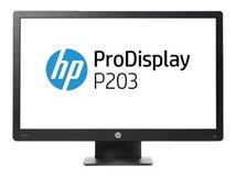 "HP ProDisplay P203 - LED-Monitor - 50.8 cm (20"") (20.0"" sichtbar) - 1600 x 900 - VA - 250 cd/m²"