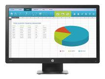 "HP ProDisplay P203 - LED-Monitor - 50.8 cm (20"") (20"" sichtbar) - 1600 x 900 - VA - 250 cd/m²"