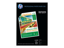 HP Professional Glossy Paper - Glänzend - A4 (210 x 297 mm) - 200 g/m² - 100 Blatt Fotopapier - für LaserJet Pro MFP M132, MFP M175, MFP M26; LaserJet Ultra M106, MFP M134