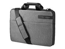 """HP Signature Slim Topload Case - Notebook-Tasche - 39.62 cm (15.6"""") - Schwarz, Heather Gray - für OMEN by HP 15; HP 14, 15; Chromebook 14; Pavilion x360; Spectre 13; Spectre x360"""