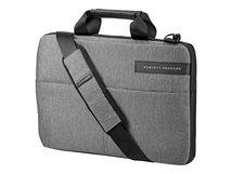 """HP Signature Slim Topload - Notebook-Tasche - 35.5 cm (14"""") - Schwarz, Heather Gray - für HP 14; Chromebook 14; Chromebook x360; ENVY 13; Pavilion x360; Spectre 13; Spectre x360"""