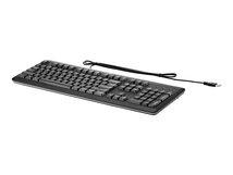 HP - Tastatur - USB - Deutsch - für HP 260 G3, 285 G3, t430; EliteDesk 800 G4; EliteOne 1000 G1, 1000 G2, 800 G3; ZBook 15 G4