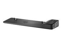 HP UltraSlim Docking Station 2013 - Docking Station - VGA, 2 x DP - EU - für EliteBook 735 G5, 745 G5, 840r G4; ProBook 640 G5; Spectre x360; ZBook 14u G6, 15u G6