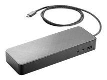 HP USB-C Universal Dock - Docking Station - USB-C - GigE - 90 Watt - GB