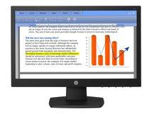 "HP V194 - LED-Monitor - 46.99 cm (18.5"") (18.5"" sichtbar) - 1366 x 768 @ 60 Hz - TN - 200 cd/m²"