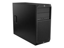 HP Workstation Z2 G4 - MT - 1 x Core i7 8700 / 3.2 GHz - RAM 16 GB - SSD 256 GB, HDD 1 TB - DVD-Writer