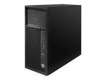 HP Workstation Z240 - MT - 1 x Core i5 7500 / 3.4 GHz - RAM 8 GB - SSD 256 GB, HDD 1 TB - DVD-Writer