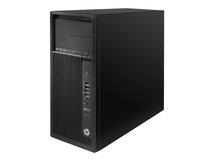 HP Workstation Z240 - MT - 1 x Core i7 7700 / 3.6 GHz - RAM 8 GB - SSD 256 GB - DVD