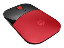 HP Z3700 - Maus - kabellos - 2.4 GHz - kabelloser Empfänger (USB) - Rot