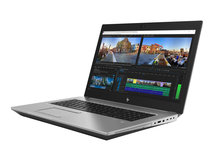 HP ZBook 17 G5 Mobile Workstation - Core i7 8750H / 2.2 GHz - Win 10 Pro 64-Bit - 16 GB RAM - 512 GB SSD NVMe - Blu-ray-Writer