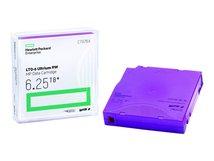 HPE RW Data Cartridge - 20 x LTO Ultrium 6 - 2.5 TB / 6.25 TB - Beschriftungsetiketten - lila - für StorageWorks SAS Rack-Mount Kit; StoreEver MSL2024, MSL4048, MSL8096; StoreEver 1/8 G2