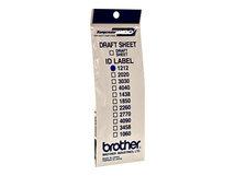 ID1212 - 12 x 12 mm 12 Etikett(en) Stempeletiketten - für StampCreator PRO SC-2000, PRO SC-2000USB