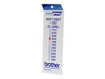 ID4040 - 40 x 40 mm 12 Etikett(en) Stempeletiketten - für StampCreator PRO SC-2000, PRO SC-2000USB