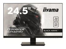 """iiyama G-MASTER Black Hawk G2530HSU-B1 - LED-Monitor - 62.2 cm (24.5"""") - 1920 x 1080 Full HD (1080p) @ 75 Hz - TN - 250 cd/m²"""