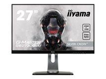"""iiyama G-MASTER Silver Crow GB2730QSU-B1 - LED-Monitor - 68.5 cm (27"""") (27"""" sichtbar) - 2560 x 1440 @ 75 Hz - TN - 350 cd/m²"""