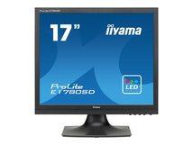"iiyama ProLite E1780SD-B1 - LED-Monitor - 43.2 cm (17"") - 1280 x 1024 - TN - 250 cd/m²"