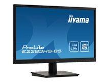 "iiyama ProLite E2283HS-B5 - LED-Monitor - 55.9 cm (22"") (21.5"" sichtbar) - 1920 x 1080 Full HD (1080p) @ 60 Hz - TN - 250 cd/m²"