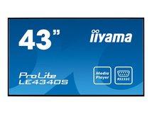 "iiyama ProLite LE4340S-B1 - 108 cm (43"") Klasse LED-Display - Digital Signage - 1080p (Full HD) 1920 x 1080 - Schwarz"