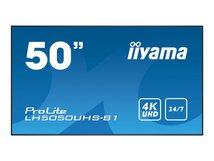 """iiyama ProLite LH5050UHS-B1 - 126 cm (50"""") Klasse LED-Display - Digital Signage - 4K UHD (2160p) 3840 x 2160 - mattschwarz"""