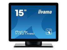 "iiyama ProLite T1521MSC-B1 - LED-Monitor - 38.1 cm (15"") - Touchscreen - 1024 x 768 @ 75 Hz - TN"