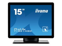 "iiyama ProLite T1521MSC-B1 - LED-Monitor - 38.1 cm (15"") - Touchscreen - 1024 x 768 - TN"