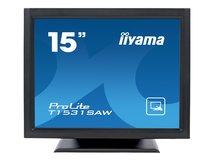 "iiyama ProLite T1531SAW-B5 - LED-Monitor - 38 cm (15"") - Touchscreen - 1024 x 768 - TN"