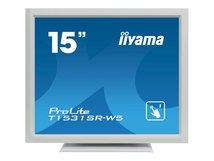 "iiyama ProLite T1531SR-W5 - LED-Monitor - 38 cm (15"") - Touchscreen - 1024 x 768 - TN"