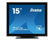 "iiyama ProLite T1532MSC-B5X - LED-Monitor - 38 cm (15"") (15"" sichtbar) - Touchscreen - 1024 x 768 XGA - TN"
