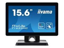 "iiyama ProLite T1633MC-B1 - LED-Monitor - 39.6 cm (15.6"") - Touchscreen - 1366 x 768 - TN"