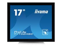"iiyama ProLite T1732MSC-W1AG - LCD-Monitor - 43 cm (17"") - Touchscreen - 1280 x 1024 - TN"