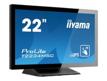 "iiyama ProLite T2234MSC-B6X - LED-Monitor - 55 cm (21.5"") - Touchscreen - 1920 x 1080 Full HD (1080p) - IPS"