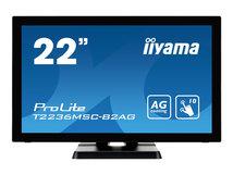 "iiyama ProLite T2236MSC-B2AG - LED-Monitor - 55 cm (21.5"") (21.5"" sichtbar) - Touchscreen - 1920 x 1080 Full HD (1080p) @ 60 Hz - A-MVA"