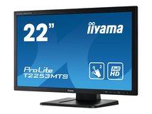 "iiyama ProLite T2253MTS-B1 - LED-Monitor - 54.7 cm (21.5"") (21.5"" sichtbar) - Touchscreen - 1920 x 1080 Full HD (1080p) @ 60 Hz - TN"