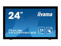 "iiyama ProLite T2435MSC-B2 - LED-Monitor - 61 cm (24"") (23.6"" sichtbar) - Touchscreen - 1920 x 1080 Full HD (1080p) @ 60 Hz - VA"