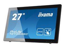 "iiyama ProLite T2735MSC-B2 - LED-Monitor - 68.6 cm (27"") (27"" sichtbar) - 1920 x 1080 Full HD (1080p) @ 60 Hz - A-MVA+ - 255 cd/m²"