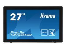 "iiyama ProLite T2735MSC-B2 - LED-Monitor - 68.6 cm (27"") (27"" sichtbar) - 1920 x 1080 Full HD (1080p) - A-MVA+ - 255 cd/m²"