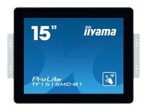 """iiyama ProLite TF1515MC-B1 - 38 cm (15"""") Klasse LED-Display - Digital Signage - mit Touchscreen 1024 x 768 - kantenbeleuchtet - Schwarz"""
