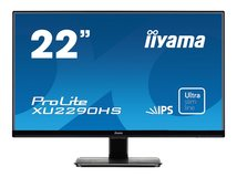 "iiyama ProLite XU2290HS-1 - LED-Monitor - 55.9 cm (22"") (22"" sichtbar) - 1920 x 1080 Full HD (1080p) - IPS - 250 cd/m²"