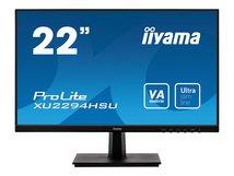 """iiyama ProLite XU2294HSU-B1 - LED-Monitor - 55.9 cm (22"""") (21.5"""" sichtbar) - 1920 x 1080 Full HD (1080p) - VA - 250 cd/m²"""