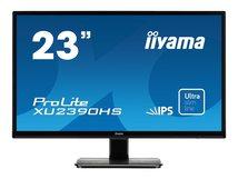"iiyama ProLite XU2390HS-1 - LED-Monitor - 58.4 cm (23"") (23"" sichtbar) - 1920 x 1080 Full HD (1080p) - IPS - 250 cd/m²"