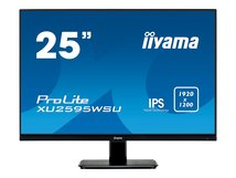 """iiyama ProLite XU2595WSU-B1 - LED-Monitor - 63.5 cm (25"""") - 1920 x 1200 WUXGA @ 75 Hz - IPS - 300 cd/m²"""