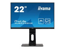 "iiyama ProLite XUB2292HS-B1 - LED-Monitor - 55.9 cm (22"") (21.5"" sichtbar) - 1920 x 1080 Full HD (1080p) - IPS - 250 cd/m²"