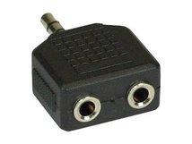InLine - Audio-Adapter - Stereo Mini-Klinkenstecker (M) bis Stereo Mini-Klinkenstecker (W)