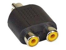InLine - Audio-Splitter - RCA (M) bis RCA (W)