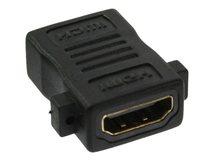 InLine - HDMI Kupplung - HDMI (W) bis HDMI (W) - Schwarz