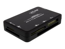 InLine - Kartenleser - All-in-one (CF I, CF II, MS, SD, xD, CF, RS-MMC, TransFlash, SDHC, MS PRO-HG Duo, SDXC, MS XC) - USB 3.0